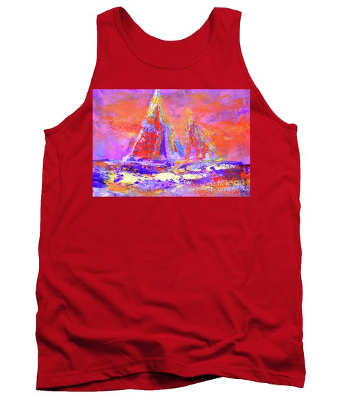 Festive Sailboats 11-28-16 Tank Top