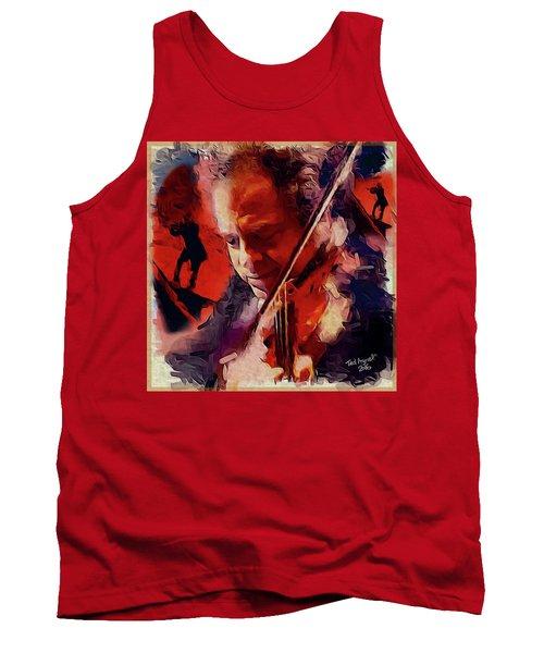 Fiddler Tank Top by Ted Azriel