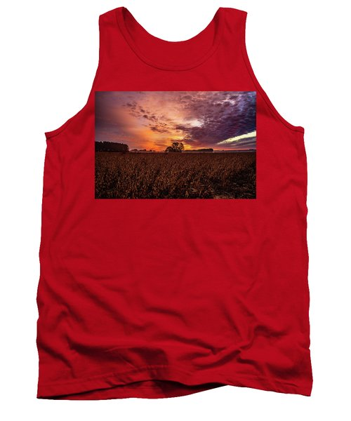 Field Of Beans Tank Top