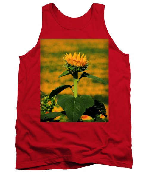 Tank Top featuring the photograph Field Of Gold by Chris Berry