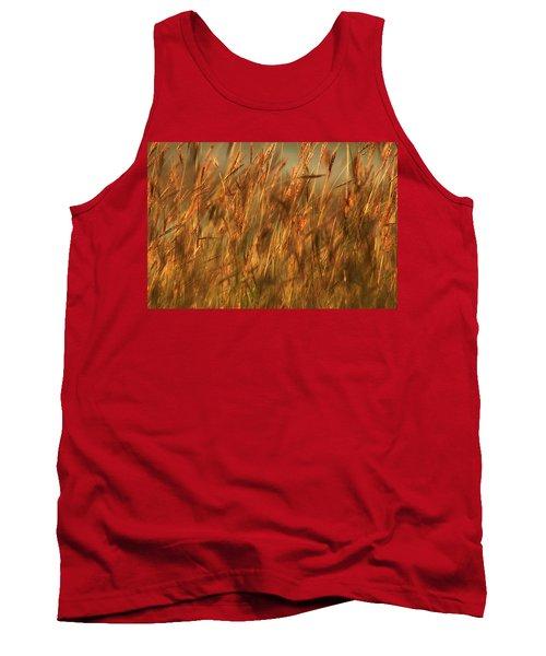 Fields Of Golden Grains Tank Top by Emanuel Tanjala