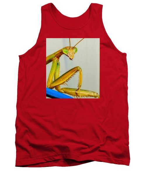 Tank Top featuring the photograph Fierce Lady by Bruce Carpenter