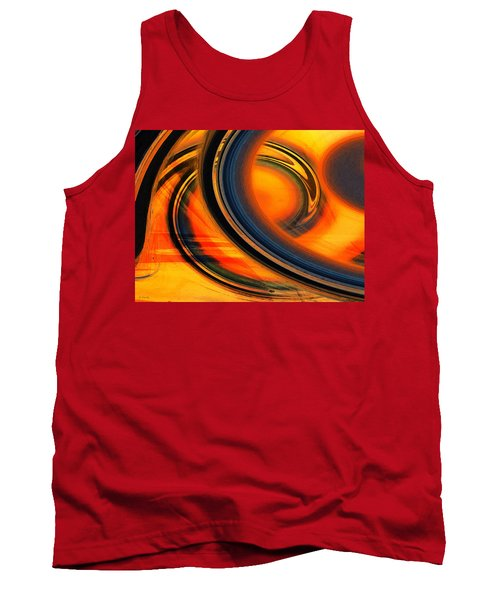 Fiery Celestial Rings  Tank Top by Shawna Rowe