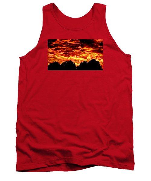 Fiery Sunset Tank Top
