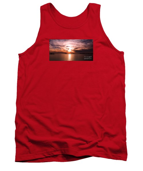 Fiery Tranquility  Tank Top