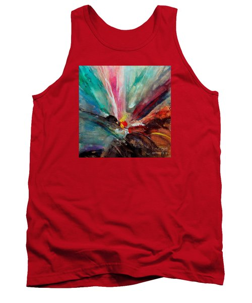Tank Top featuring the painting Fiesta  by Dragica  Micki Fortuna