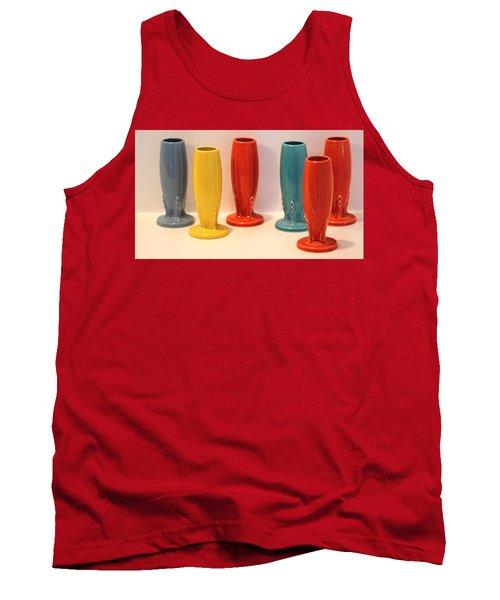 Fiestaware Bud Vases Tank Top