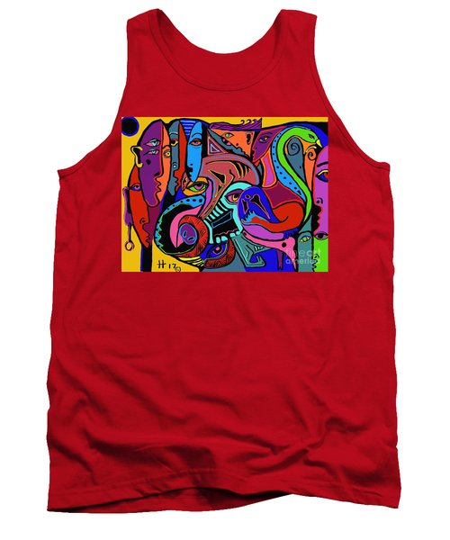 Find The Hog Tank Top by Hans Magden