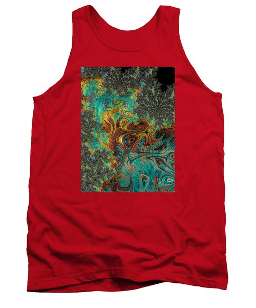 Tank Top featuring the photograph Fire And Ice by Ronda Broatch
