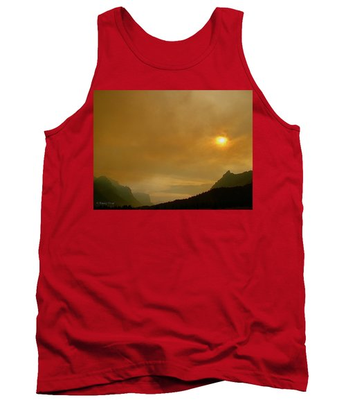 Fire And Sun Tank Top