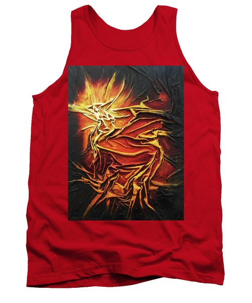 Fire Tank Top by Angela Stout
