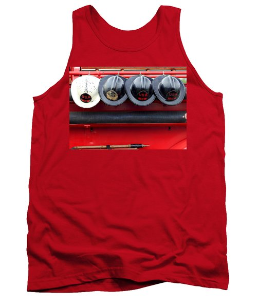Fire Department Of The Usa Tank Top