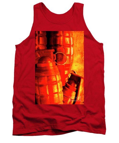 Fire In The Hole Tank Top