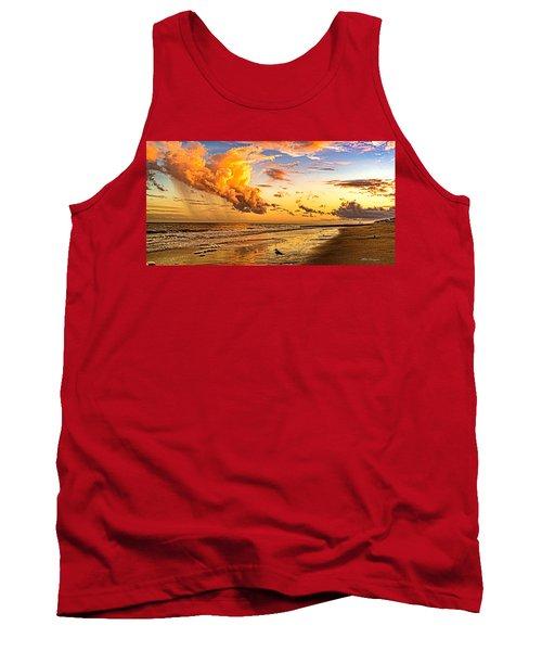 Fire In The Sky Tank Top