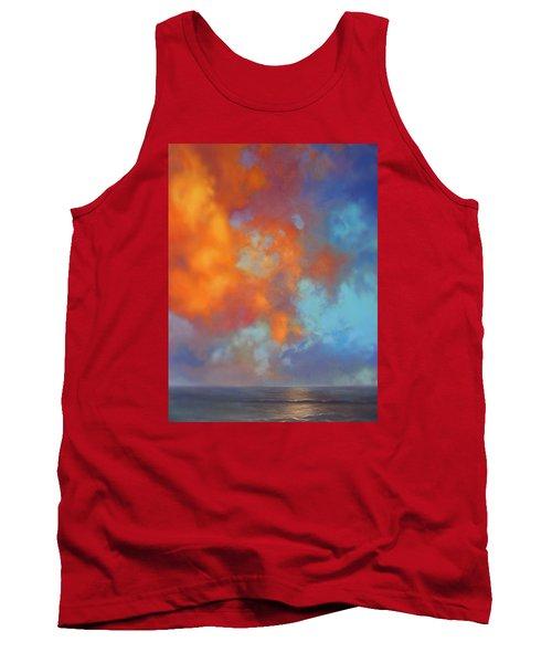Fire In The Sky Tank Top by Vivien Rhyan