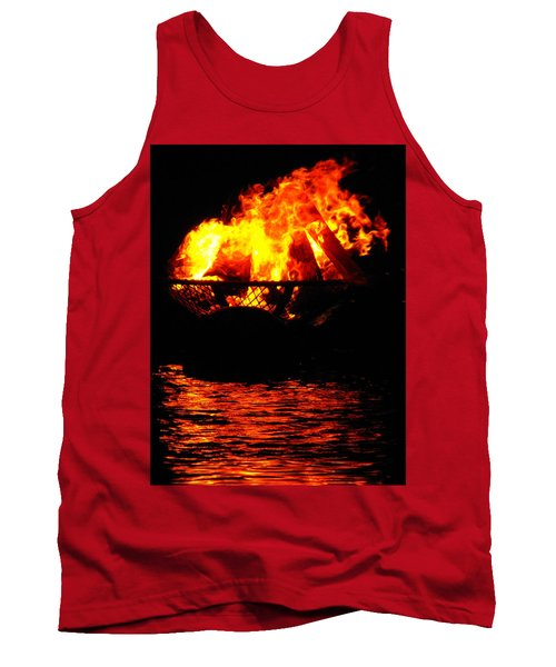 Fire Water Illuminates The Night Tank Top
