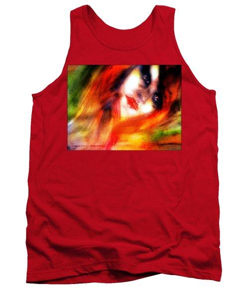 Fire Woman Tank Top