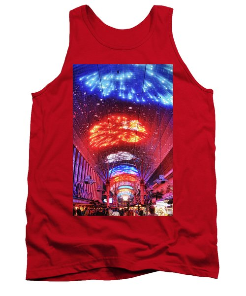 Fireworks Display In Las Vegas Tank Top