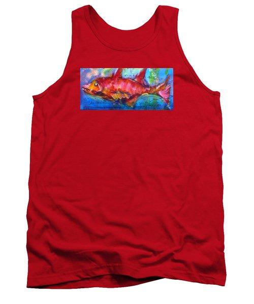 Fish 4 Tank Top