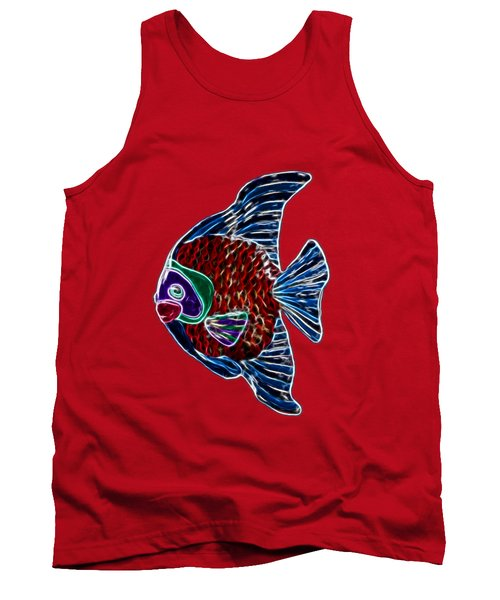 Fish In Water Tank Top by Shane Bechler