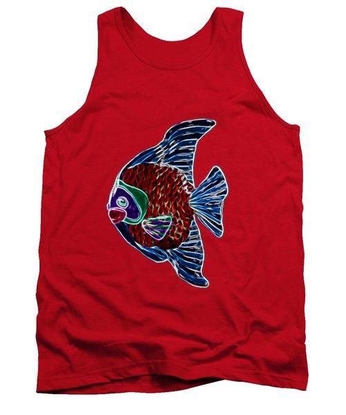 Fish In Water Tank Top