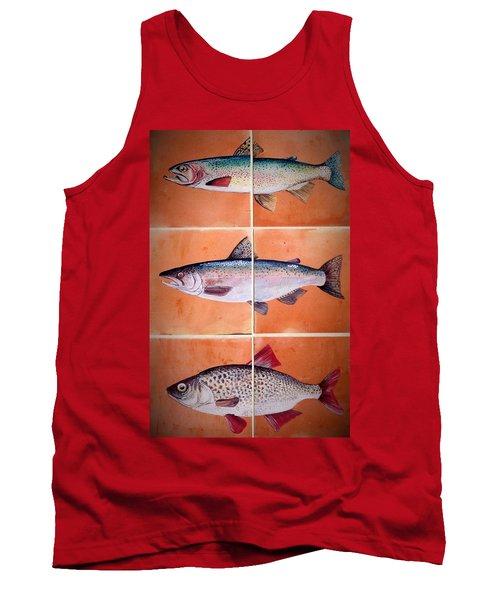 Fish Mural Tank Top