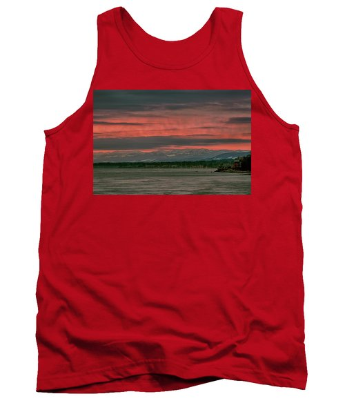 Tank Top featuring the photograph Fishermans Wharf Sunrise by Randy Hall