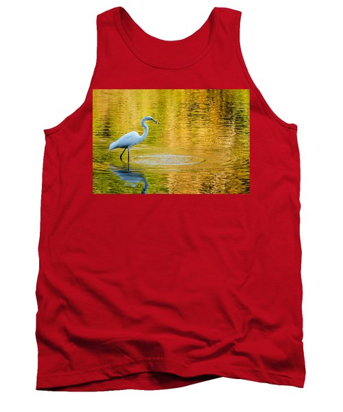 Tank Top featuring the photograph Fishing 2 by Wade Brooks