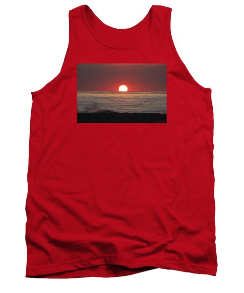 Tank Top featuring the photograph Fishing Boat Sunrise by Robert Banach