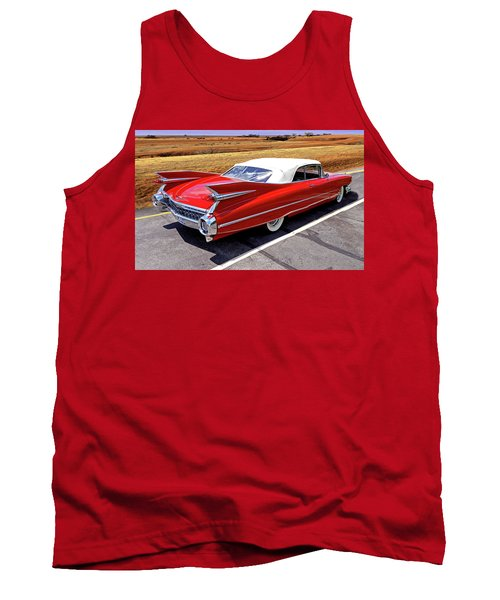 Tank Top featuring the photograph Flamboyant Fifty-nine by Christopher McKenzie