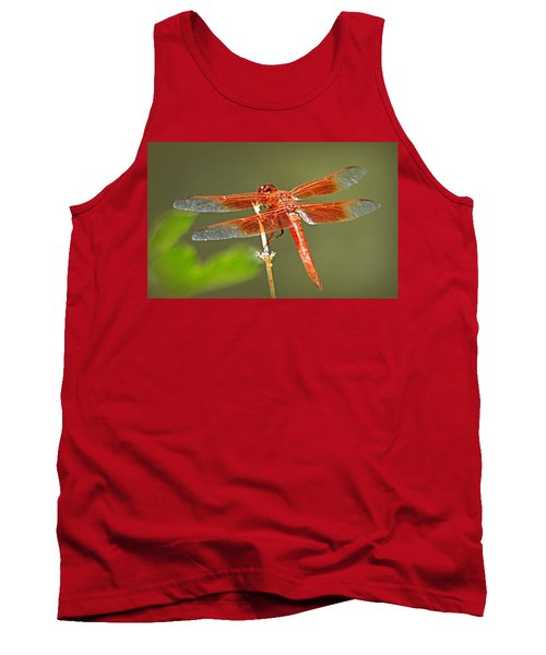 Flame Skimmer Tank Top by AJ Schibig