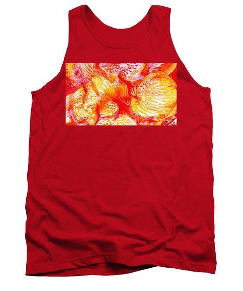 Flaming Hosta Tank Top