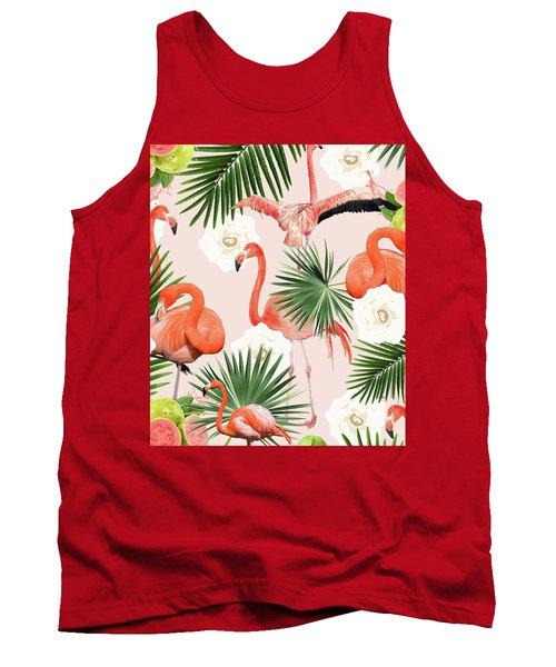 Flamingo Guava Tank Top