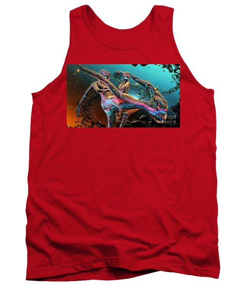 Floating In The Universe Tank Top by Ian Gledhill