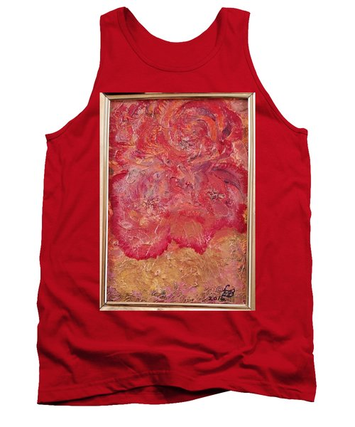Floral Abstract 2 Tank Top