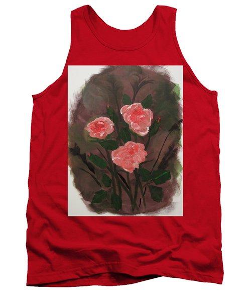 Floral Art Tank Top