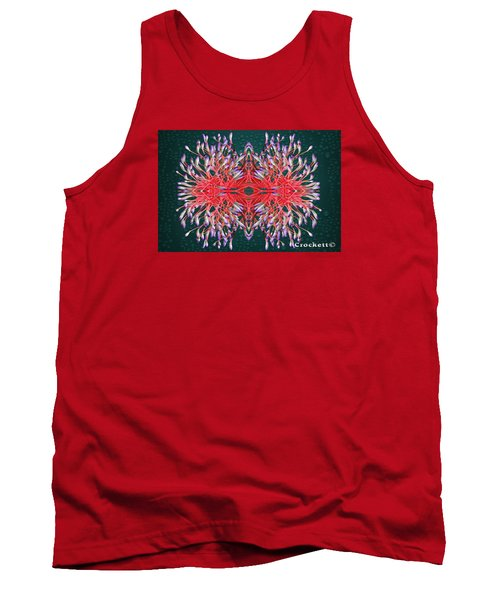 Tank Top featuring the photograph Floral Display by Gary Crockett