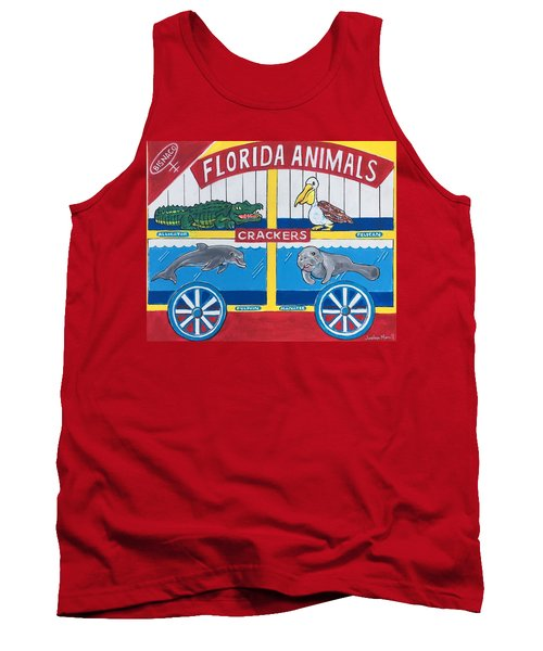 Florida Animal Crackers Tank Top