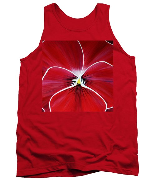 Flower Abstract 3 Tank Top