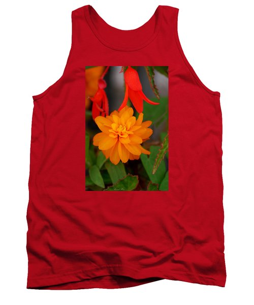 Tank Top featuring the photograph Flower by Bernd Hau