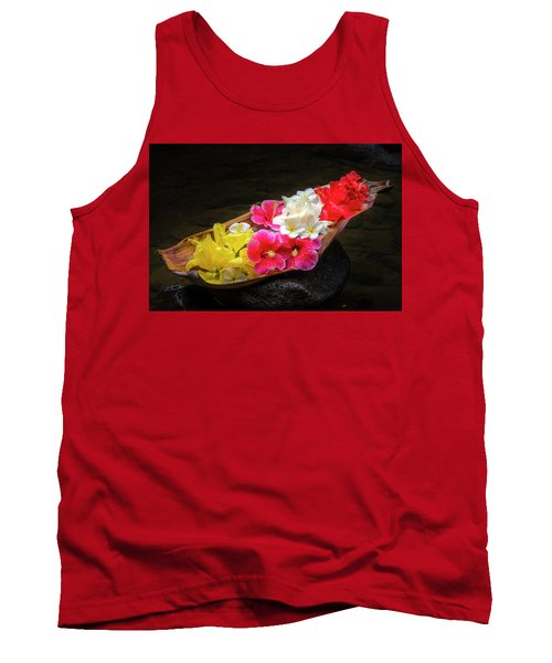 Flower Boat Tank Top