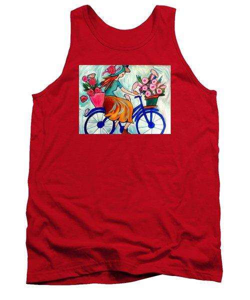Flower Lady Tank Top