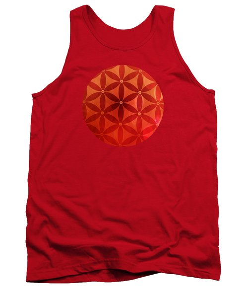 Flower Of Life  Tank Top by Serena King