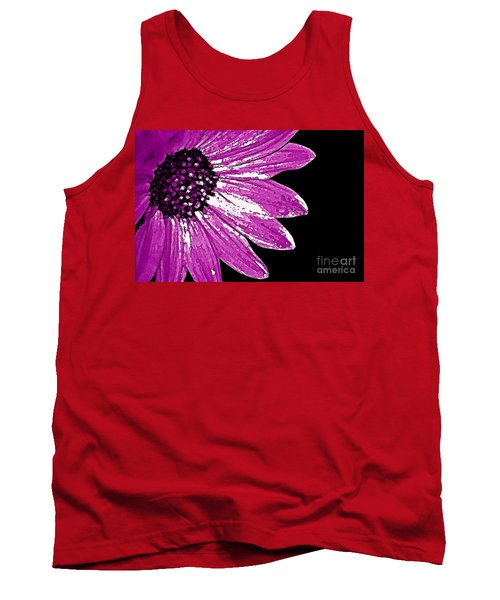Tank Top featuring the photograph Flower Power  by Juls Adams