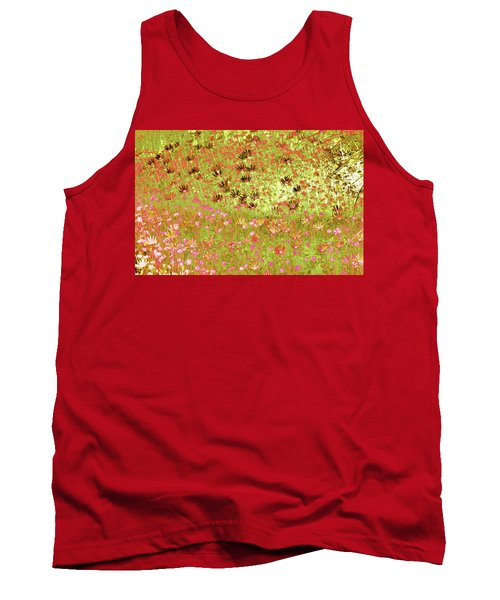 Flower Praise Tank Top by Linde Townsend