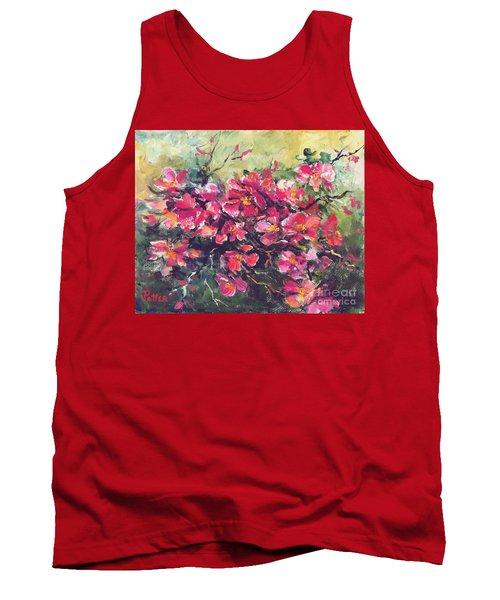 Flowering Quince Tank Top
