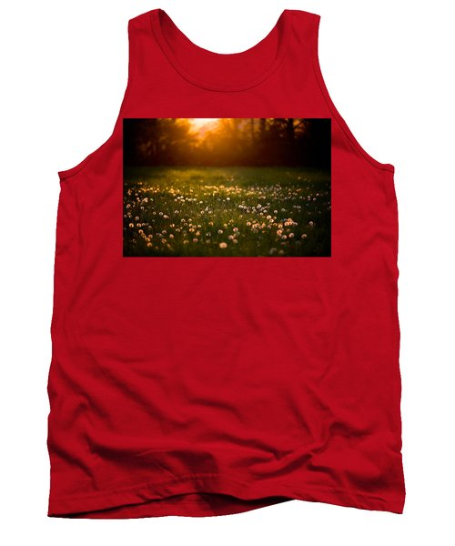 Flowers  Tank Top by Evgeny Vasenev