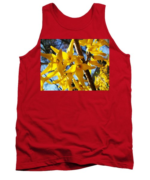 Flowers Of The Sky Tank Top