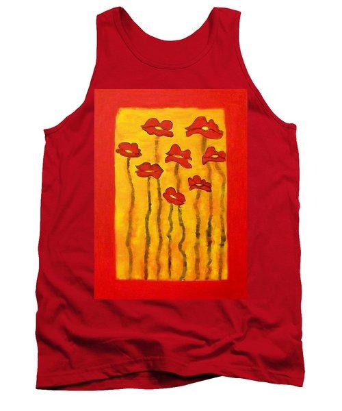 Flowers Tank Top
