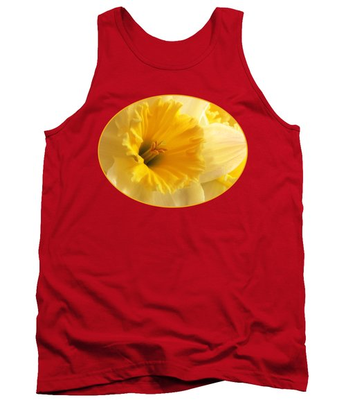 Focus On Spring - Daffodil Close Up Tank Top
